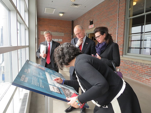 Ambassor & Mrs. Heyman at Pier 21 | by US Embassy Canada