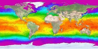 Ocean temperatures   by Curt.dk