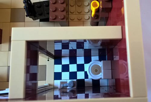 Chili's Restaurant bathroom | by morecitybricks