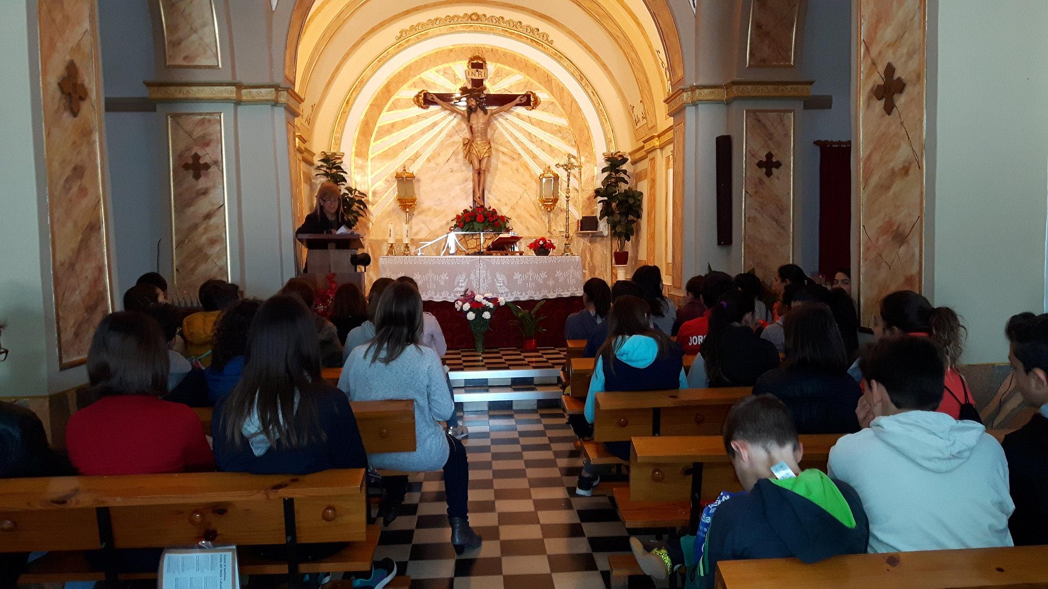 (2017-03-31) - Visita ermita alumnos Yolada-Pilar, Virrey Poveda-9 de Octubre - Maria Isabel Berenquer Brotons - (05)