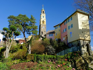 Portmeirion, Snowdonia National Park, UK.  Fujifilm. | by scotbot