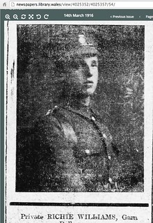 Pte Richie Williams dow 1 3 16 | by royalwelchfusiliers