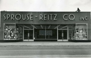 Sprouse-Reitz Portland Oregon 1949 Press Photo | by Phillip Pessar