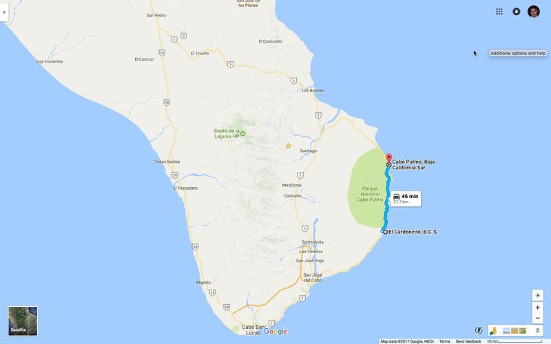 El Cardoncito to Cabo Pulmo
