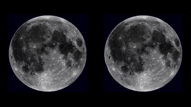 moon 3d cross-view