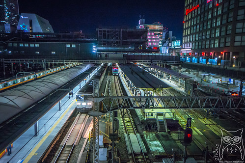 Shinjuku Station | by Aaron G (Zh3uS)