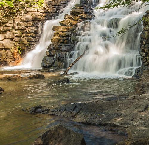 park motion tree water waterfall spring rocks state alabama chewacla nikond60