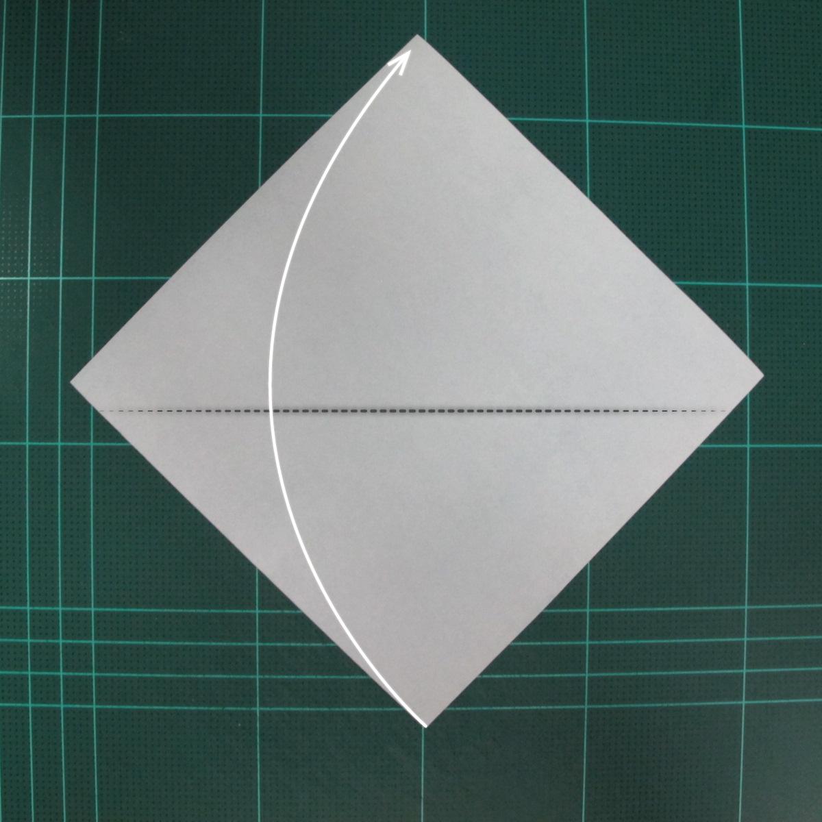 การพับกระดาษเป็นรูปแม่ชี (Origami Nun) 001