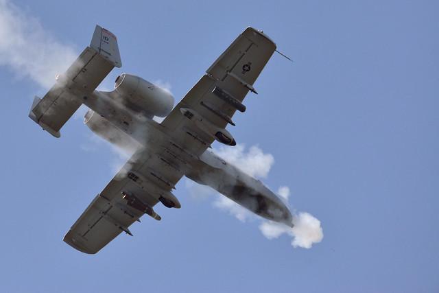 Belgian JTACs control A-10s over Grafenwoehr during Combined Resolve II