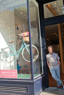 21195 A sun-kissed Dan reflects on Public Bikes Hayes Valley opening day | by geekstinkbreath