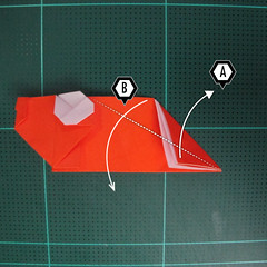 การพับกระดาษเป็นรูปปลาทอง (Origami Goldfish) 018