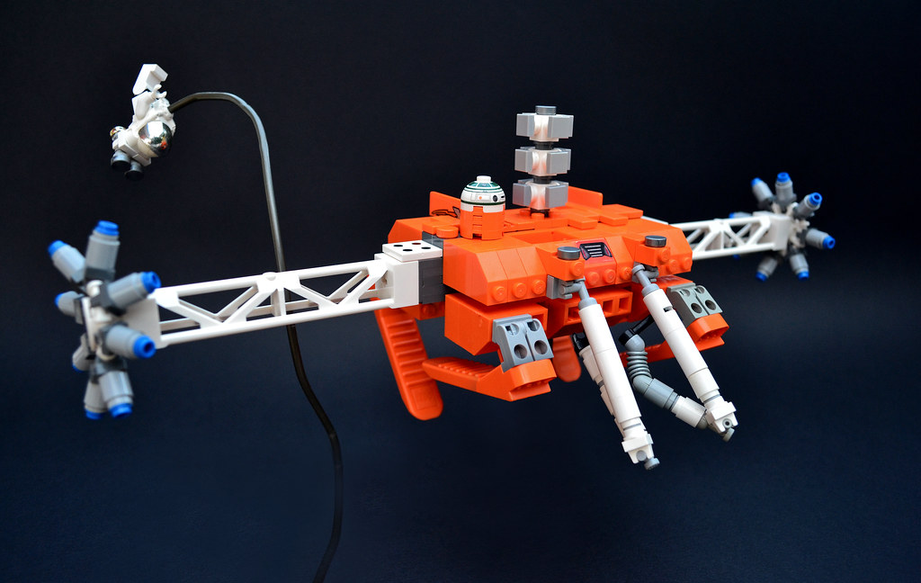 Orbital Repair/Rescue Drone (ORRD)