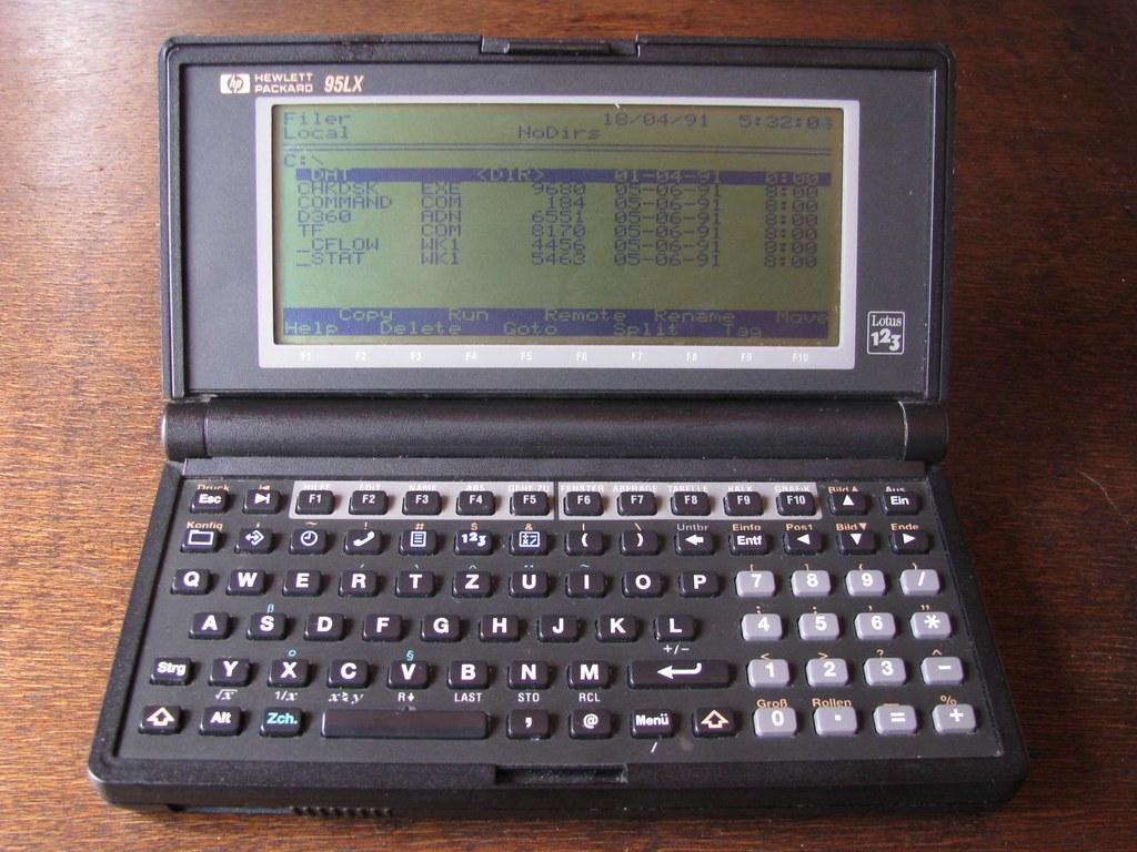 HP 95LX 1991