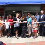 Xposed Salon Ribbon Cutting 5-21-14