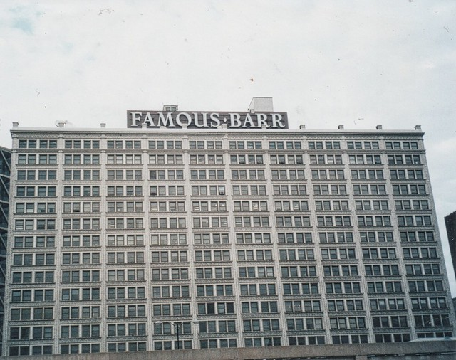 St Louis Mo ~  Famous-Barr Co ~ Old Department Store ~ Closed ~ 35mm Film