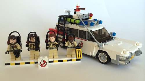 Ghostbusters Lego 21108