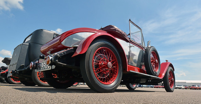 Vintage MG at Silverstone
