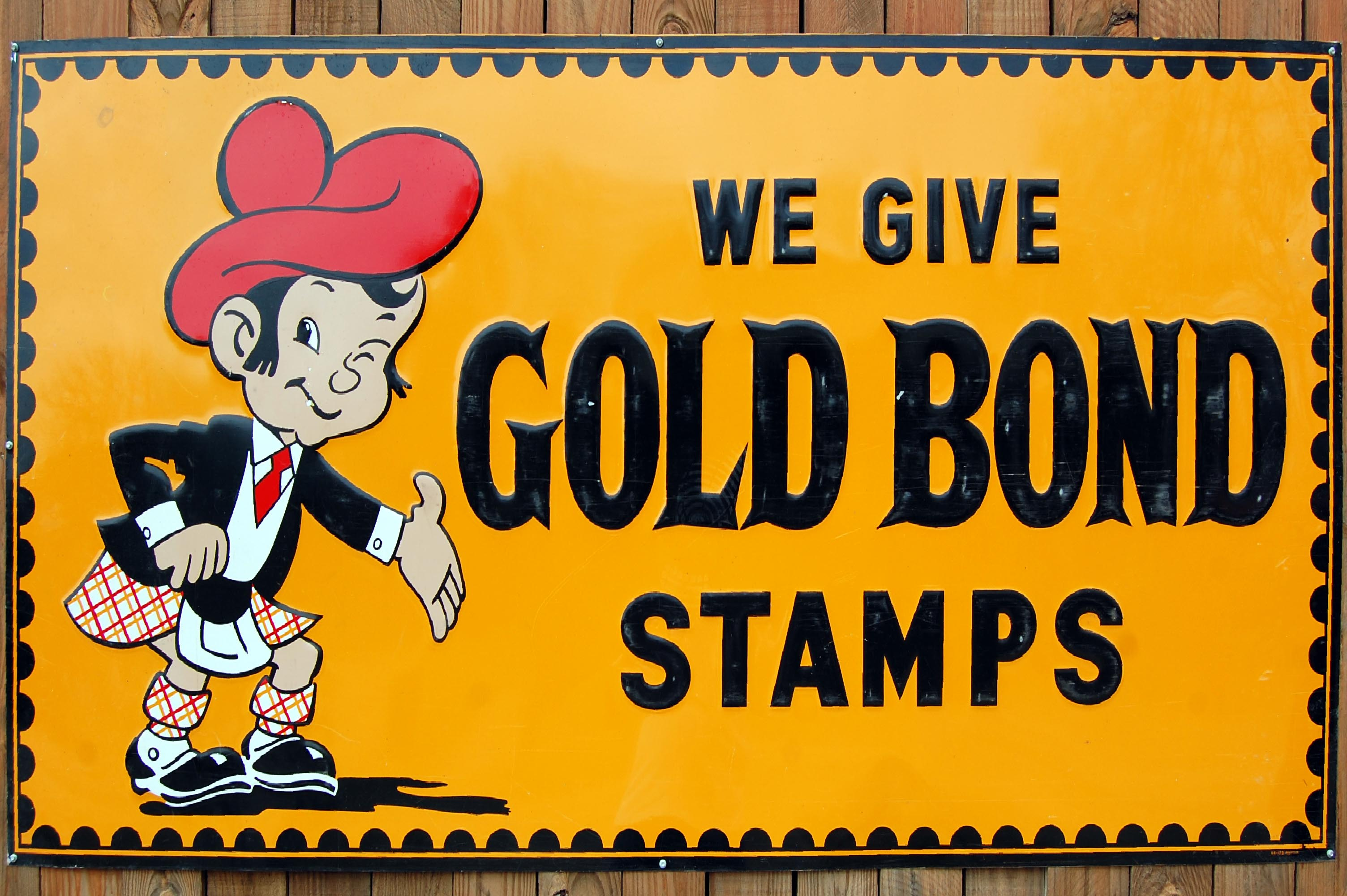 Gold Bond Stamps - Canton, Texas U.S.A. - June 10, 2014