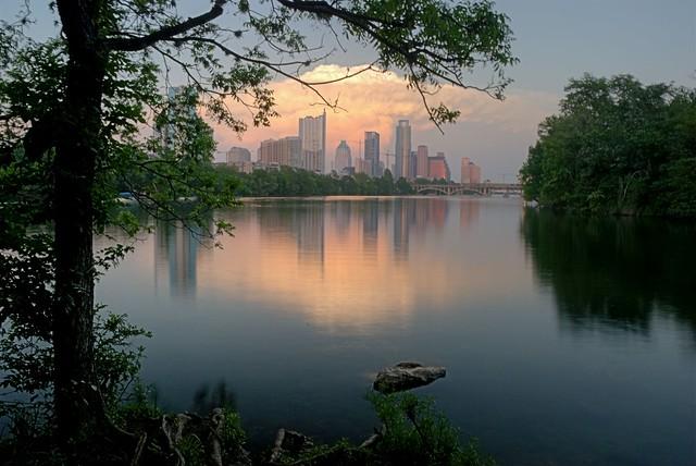 Austin Skyline from Lou Neff Point