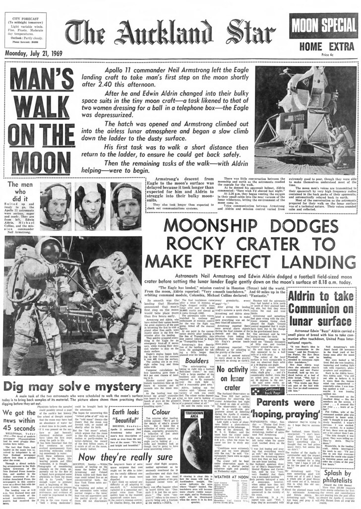 Tell us what the first moon landing meant to you | Local ...  |Huntsville Newspaper Moon Landing