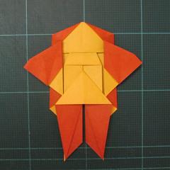 การพับกระดาษเป็นรูปปลาคาร์ฟ (Origami Koi Fish) 020