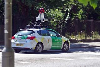 GoogleCar in Liverpool