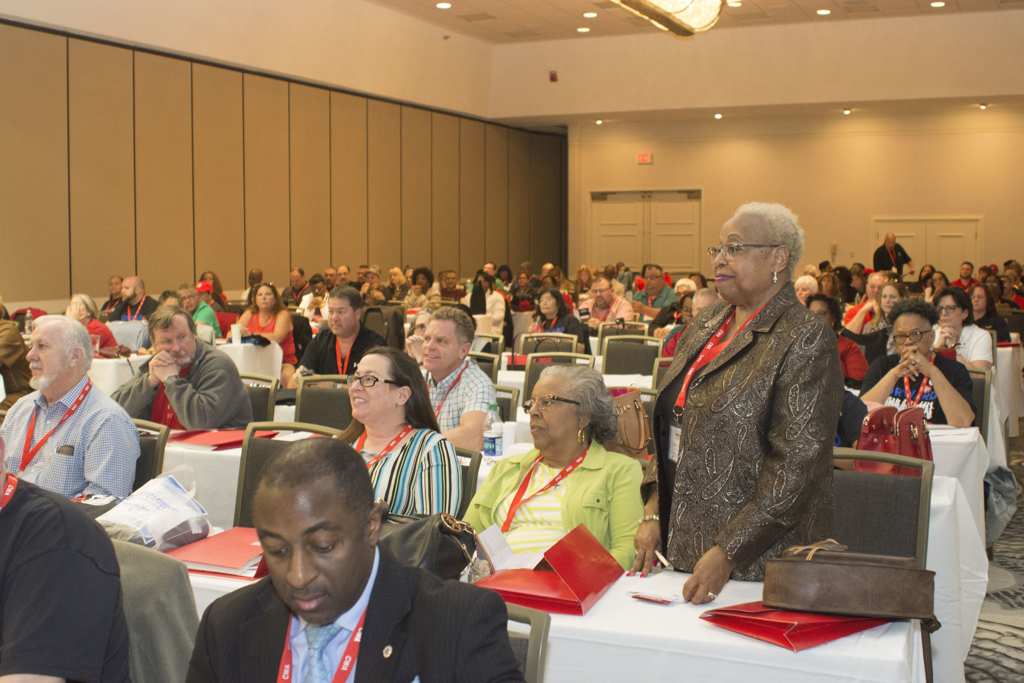 Carolyn Wade at 2017 Public, Healthcare, and Education Workers Conference