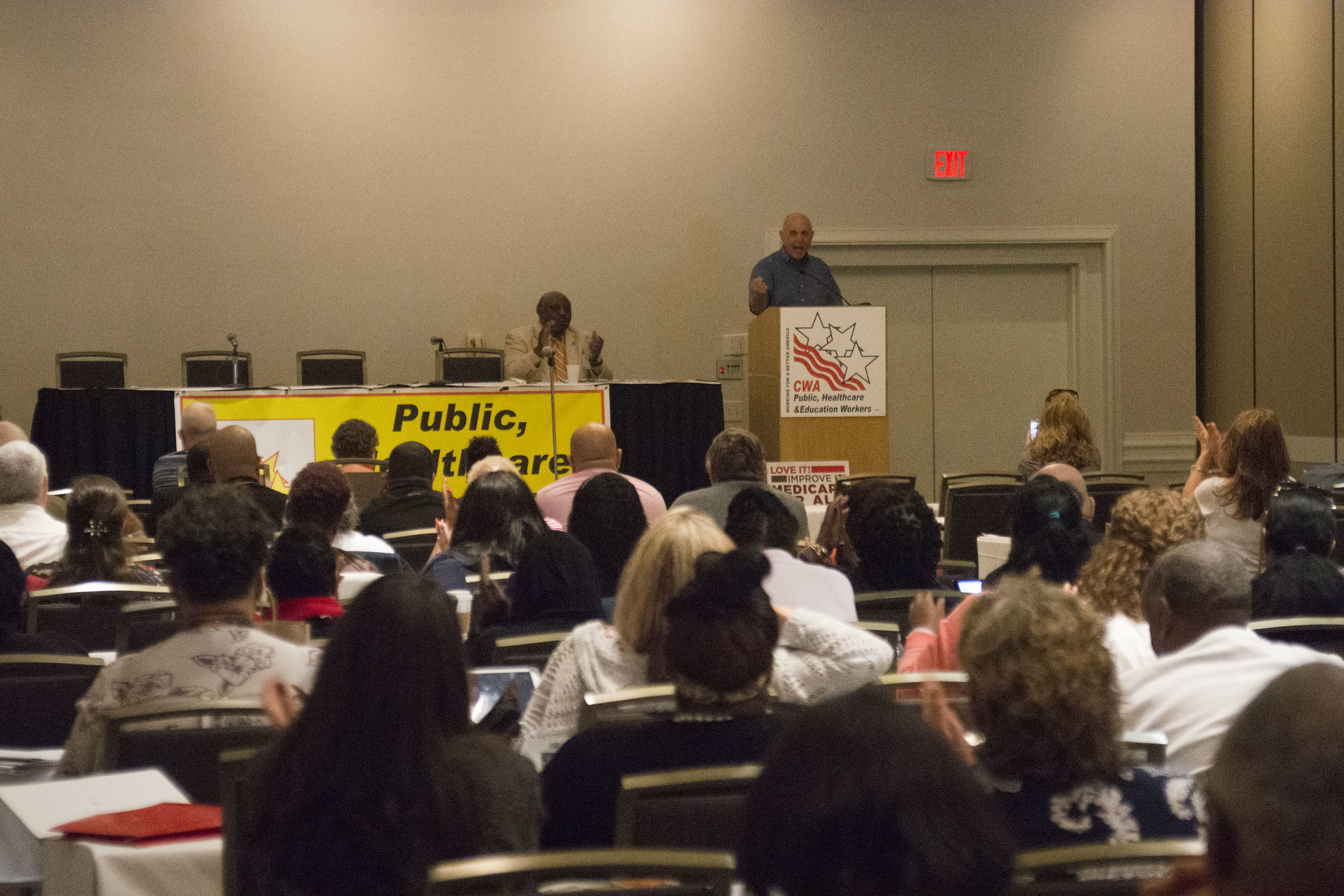 Larry Cohen at the 2017 Public, Healthcare, and Education Workers Conference