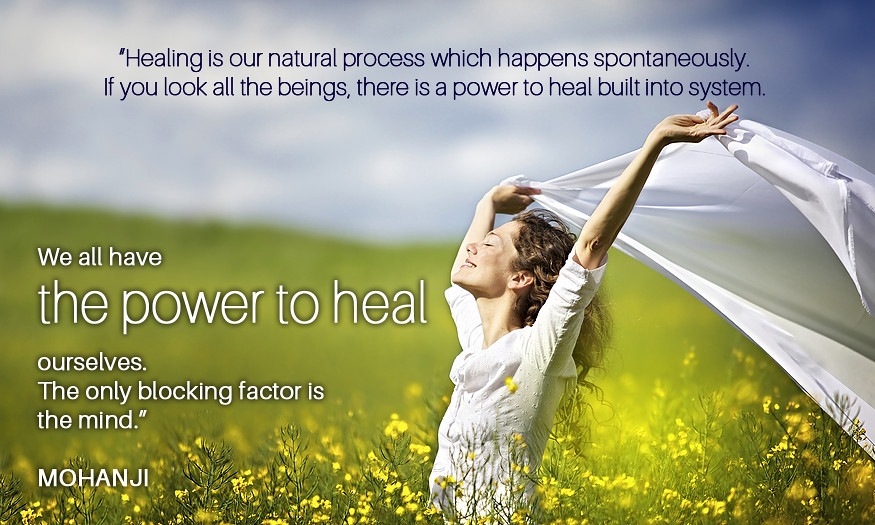 mohanji quote healing is a natural process mohanji quotes flickr