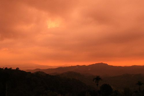 srilanka rangala rangalahouse sunrise sunset sun orange sky cloud clouds outdoors
