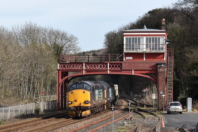 Flask train at Hexham