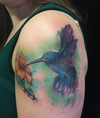 Flickr: Cindy Satton watercolor tattoo artist\'s Photostream