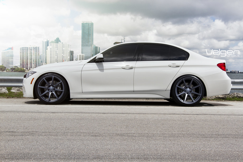 Bmw F30 335i On Velgen Wheels Vmb8 Matte Gunmetal Bmw F30 Flickr