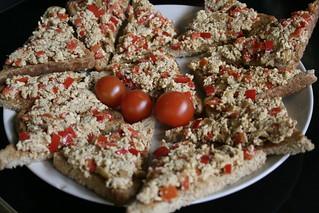 7. veganská večeře duben
