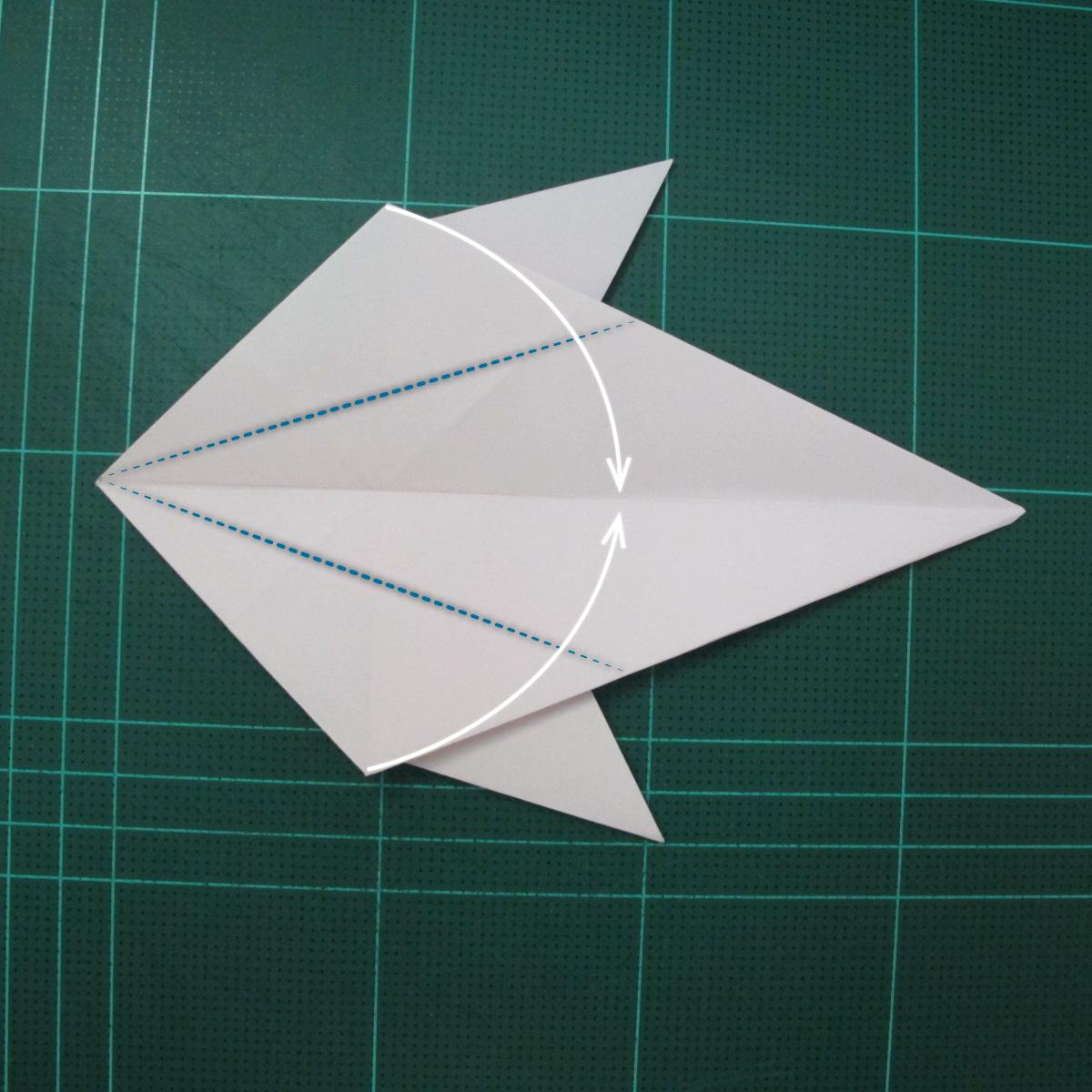 การพับกระดาษเป็นไดโนเสาร์ทีเร็กซ์ (Origami Tyrannosaurus Rex) 026