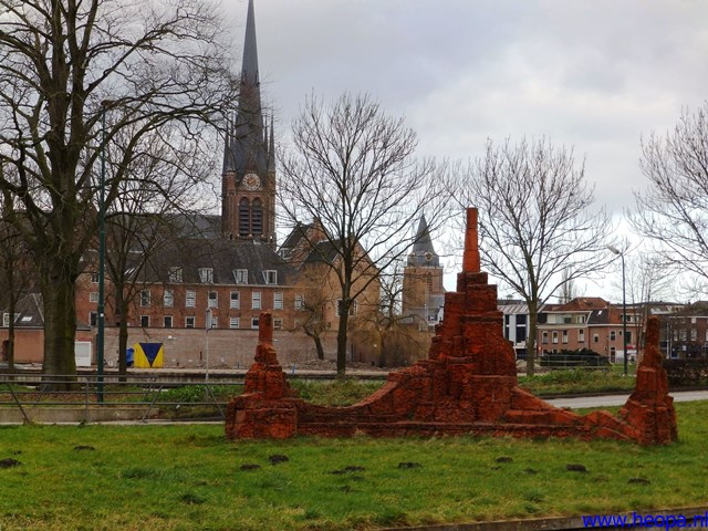 15-02-2014 Woerden 26 Km (05)