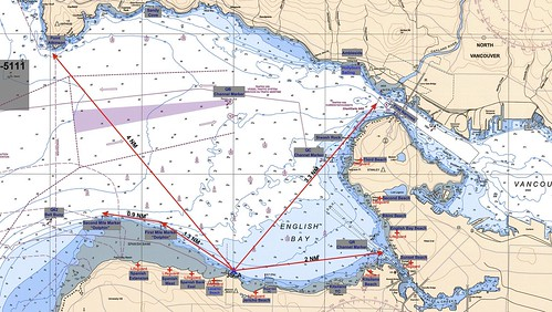 chart of English Bay (Luna Log entry) | by Dale Simonson