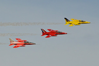 Gnat Display Team - RAF Waddington. 05-7-2014 | by Hawkeye UK