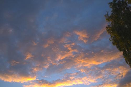sunset clouds fujifilm x100