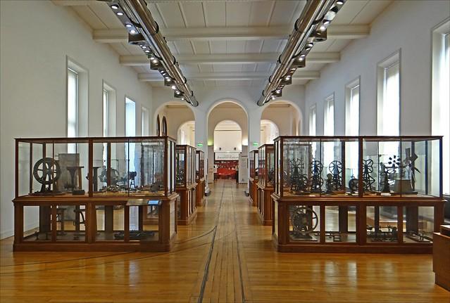 La salle mécanique (musée des arts et métiers, Paris)