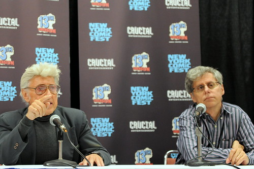 New York Comic Fest 2014: Jim Steranko and Paul Levitz | by Kendall Whitehouse