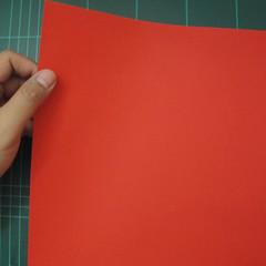 การพับกระดาษเป็นรูปสัตว์ประหลาดก็อตซิล่า (Origami Gozzila) 001