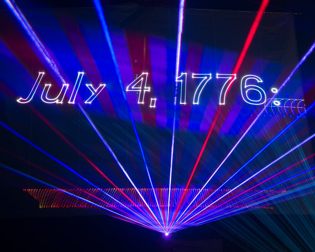 July 4, 1776 Laser Show