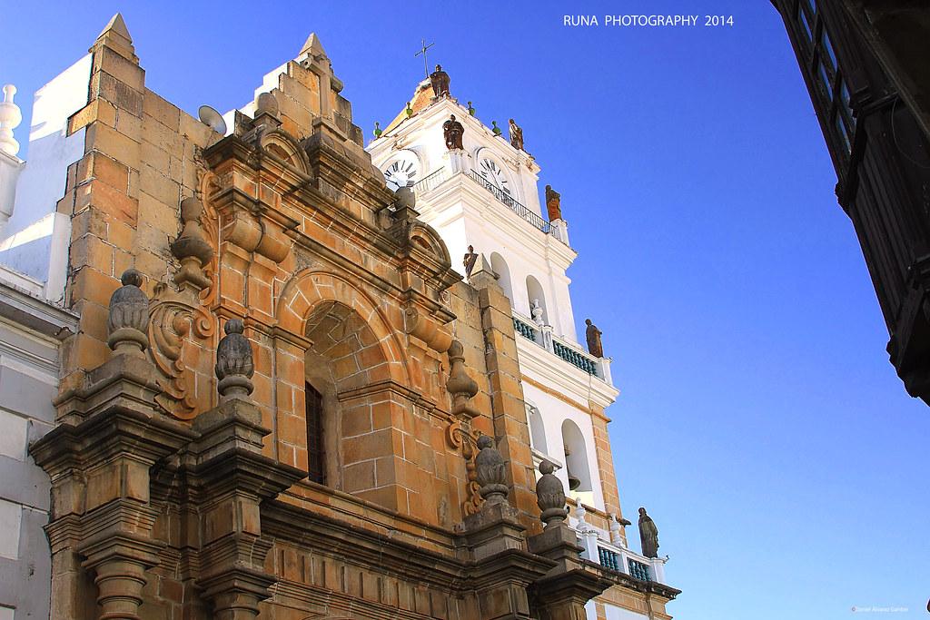 Miradas a Sucre (II),Portada y Torre (Explore 29/07/2014)