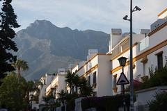 Mountain over Marbella, Spain
