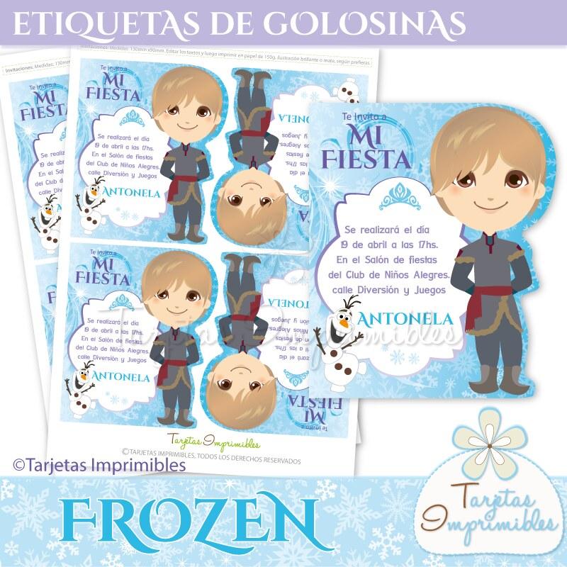 Tarjetas De Invitación Frozen Tarjetas Para Fiestas Person