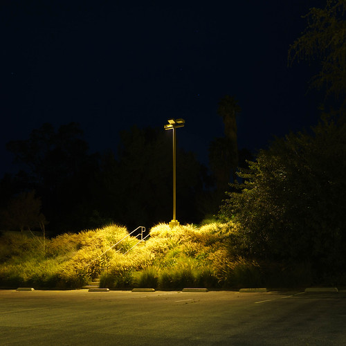 riverside parkinglot california night light suburbs suburbanlandscape church regionalism rosesmith