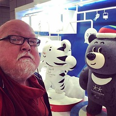 Wasn das fürn Typ? #seoul #korea #olympics #wintergames #fitzaroundtheworld