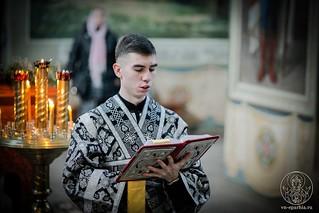 Литургия в Иверском монастыре 190