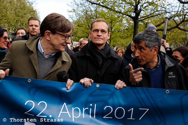 Tausende beim March for Science in Berlin